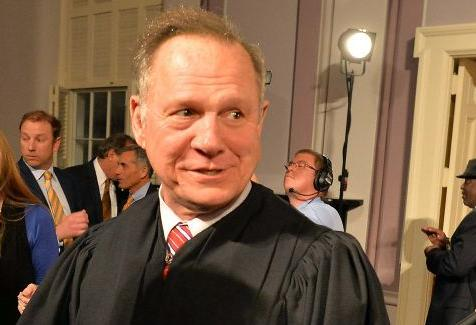 Alabama Chief Justice Roy Moore suspended from office over same-sex marriage order