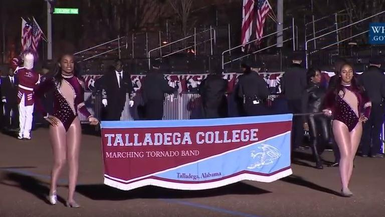 Scenes from Talladega College marching band's performance in inaugural parade (photo gallery)