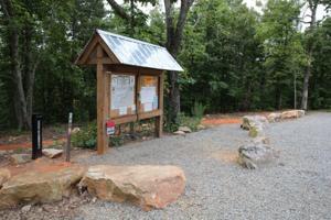 Coldwater Bike Trail entrance