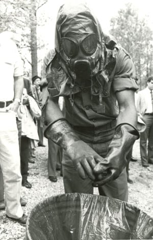 Fort McClellan Chemical Training