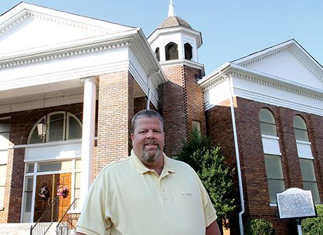 Involvement with youth led to job at First Methodist Church