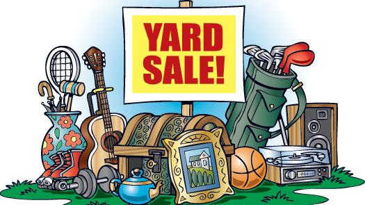 Residents prepare for annual yard sale