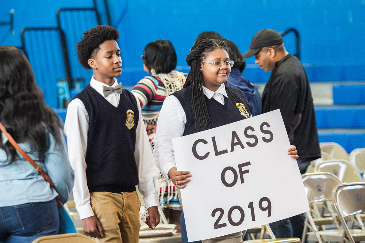 Talladega County Central students pledge to graduate