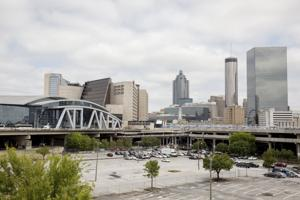 <p>The Atlanta skyline. (MCT)</p>