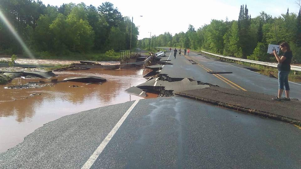 Ashland County Emergency Management Issues Flooding