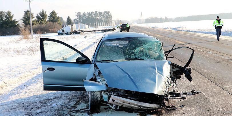Car Accident Near Spooner Wi
