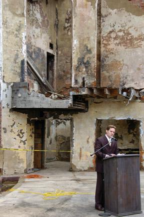 Mayor Ben Frederick talks