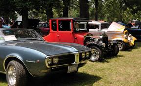 Corunna car show
