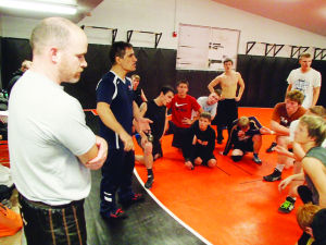 Former Olympian stops by to help Fruitland wrestlers