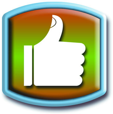 how to make thumbs up in facebook