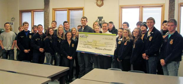 New Plymouth High accepts check