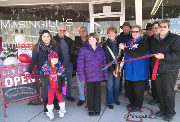 Masingill's celebrates new ownership with ribbon cutting