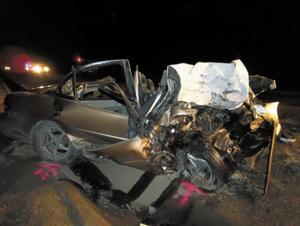 Fatal accident on Highway 20