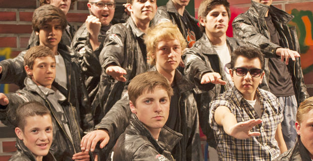 Theater troupe gets ready to take 'Grease' to stage