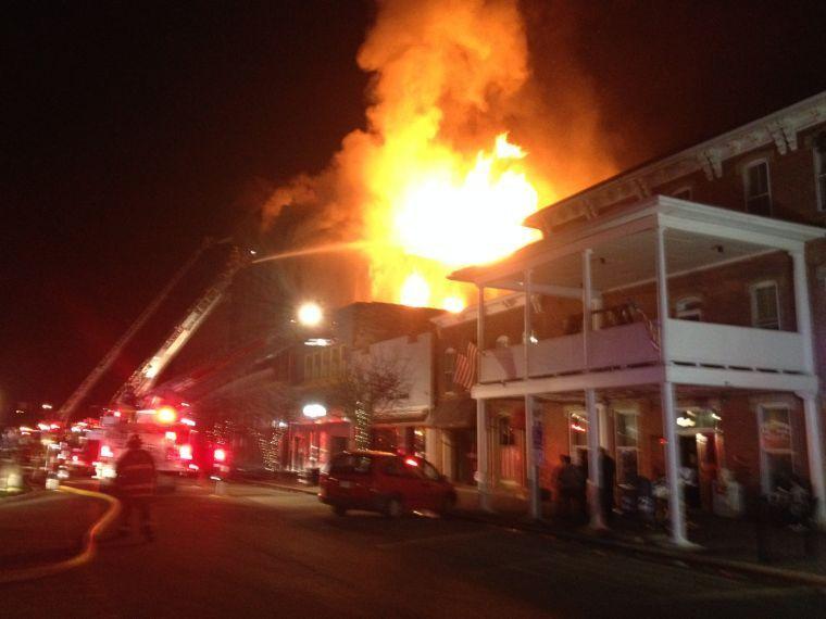 Building on Nelsonville Public Square on fire | News Advisories | athensmessenger.com