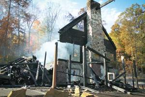 Hocking Hills luxury lodge burns down