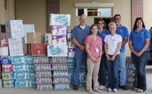 Holzer employees donate for Oklahoma tornado victims