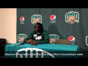 Ohio basketball vs Buffalo, 1-24-2015