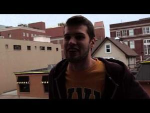 Ohio University students react to Union Street fire
