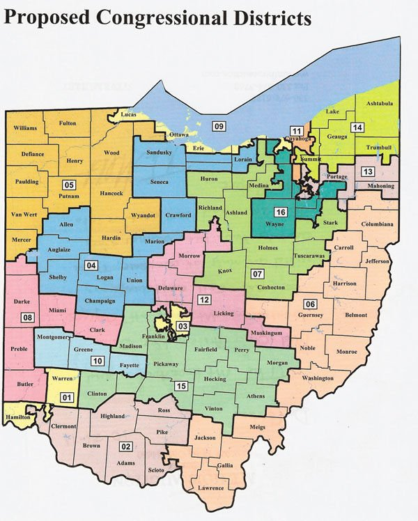Ohio GOP Fails To Pass Its Revised Map For Congressional