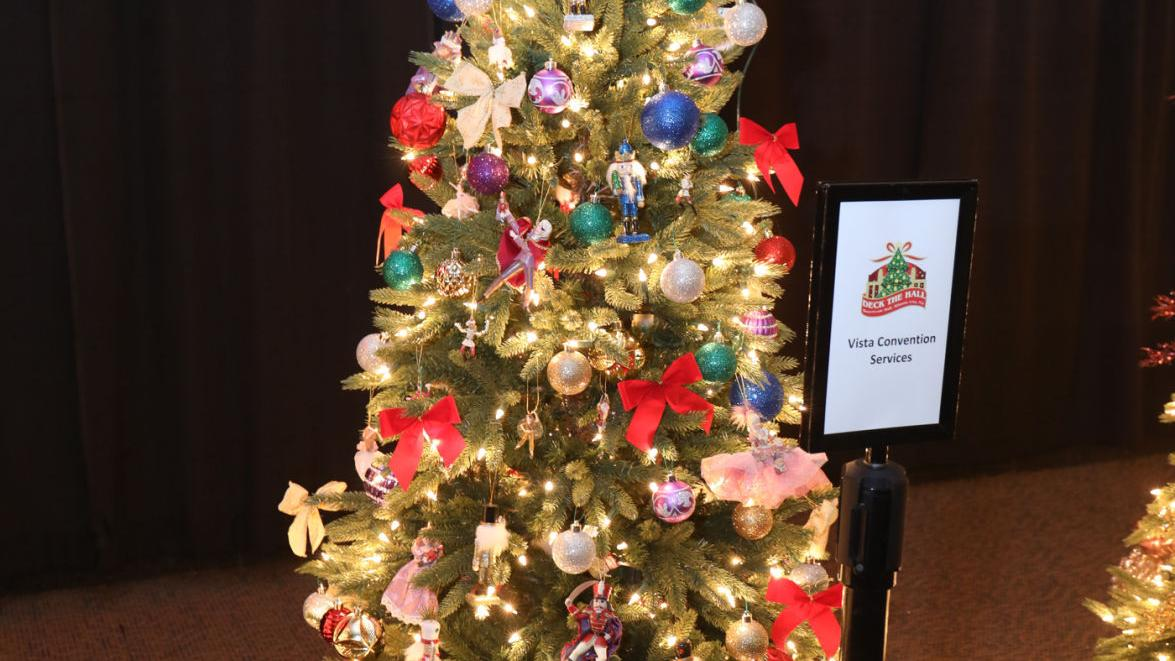 Trees light up for charity at Boardwalk Hall