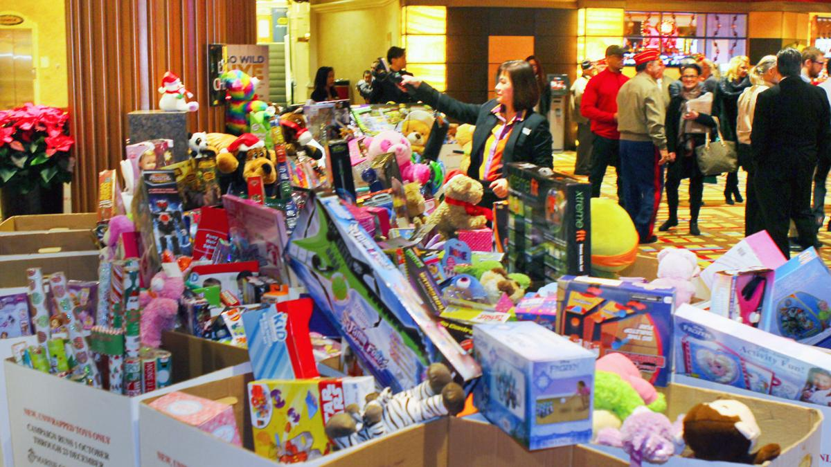 Bally's 2016 Toys For Tots Drive