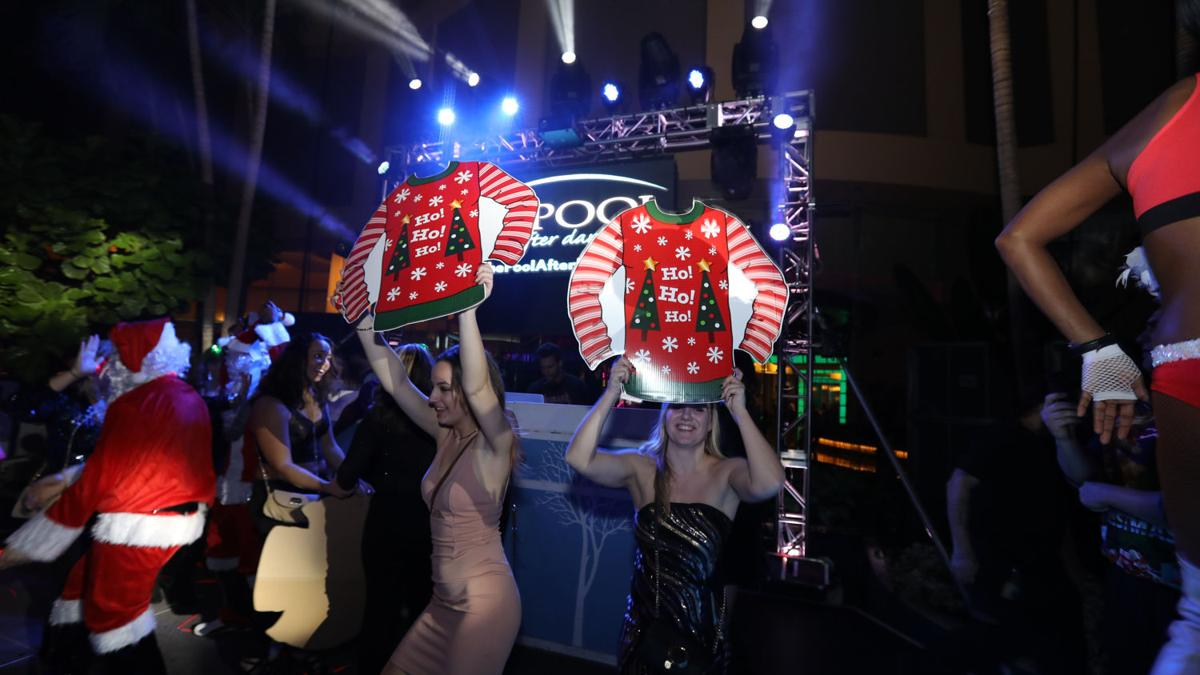 Brody Jenner hosts Ugly Sweater Party at The Pool