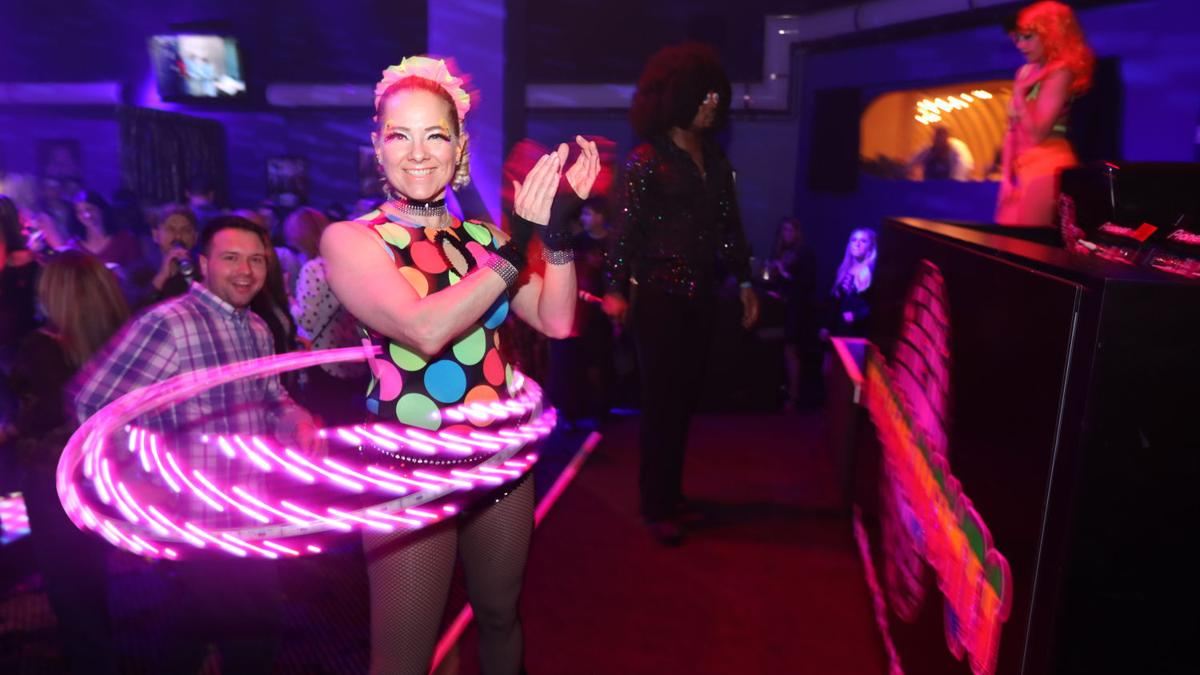 Crowds disco, drink and dance at Boogie Nights
