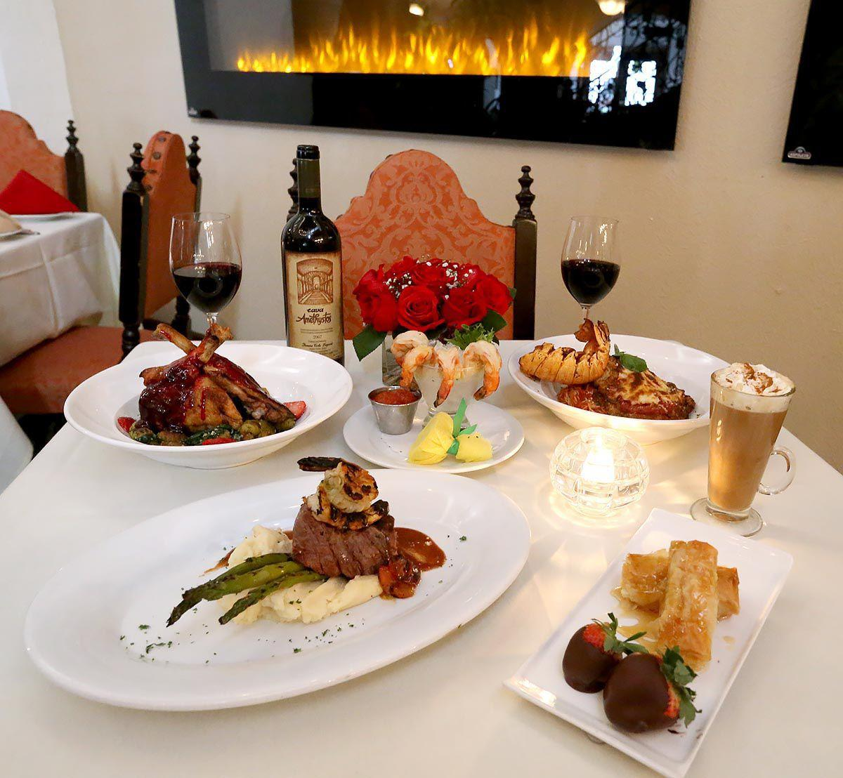 Enjoy valentine 39 s day with a meal for two at these for Atlantic city romantic restaurants