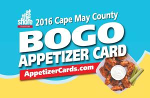Cape May County BOGO apps card