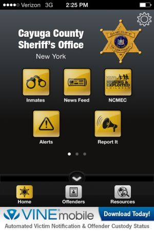 New app allows users to track inmates in the Cayuga County Jail