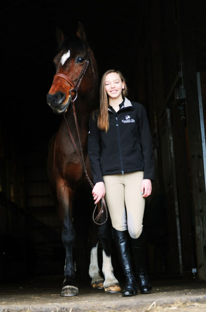 'The best I can': Marcellus rider for Emerald City Equestrian Team looks toward nationals
