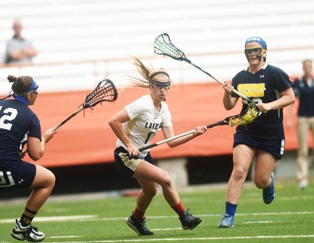 Skaneateles girls lacrosse routs General Brown for third straight section title