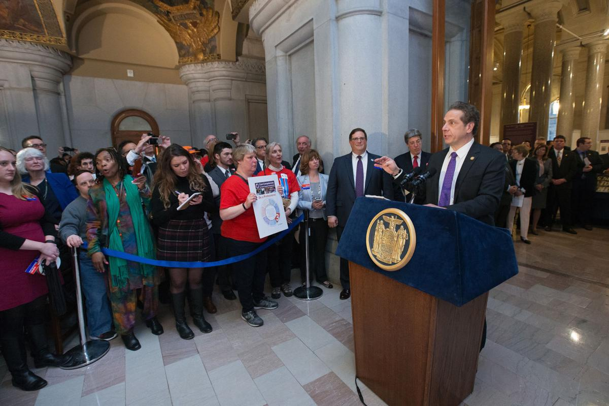 eye on ny direct care workers getting a raise ny human cuomo direct care