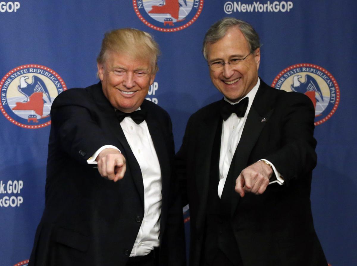 NY GOP Chair Ed Cox endorses Donald Trump