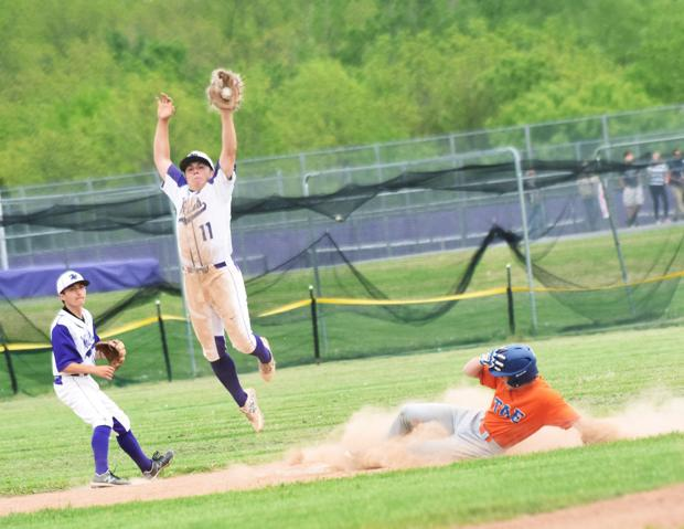 Union Springs/Port Byron baseball falls to Elmira Thomas A. Edison in section quarterfinals