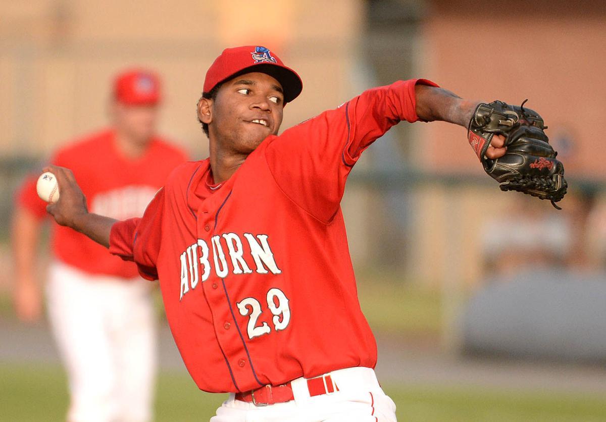 Auburn Doubledays Jefry Rodriguez Earns League Pitcher Of