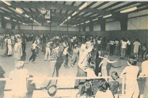 From the archives: The early days of Reva Rollerdrome on Genesee Street