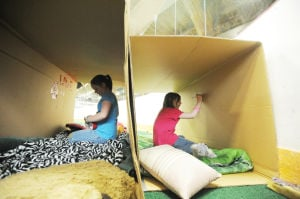 Girls Scouts Homeless Experience