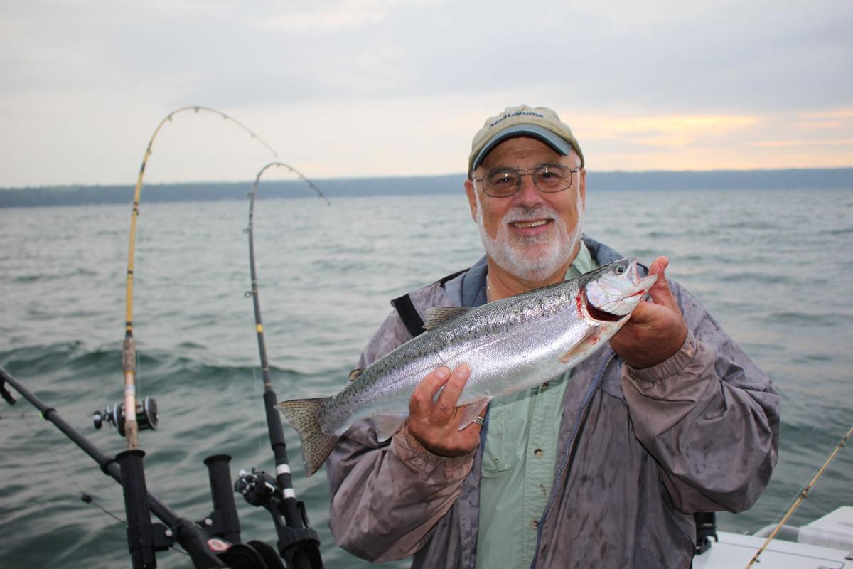 Brewer experience a cayuga lake fishing charter local for Cayuga lake fishing