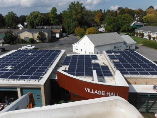 Village Hall State S First Net Zero Municipal Building