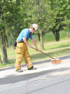 Fleming Fire Department responds to 40-50 gallons of spilled pesticide in Fleming
