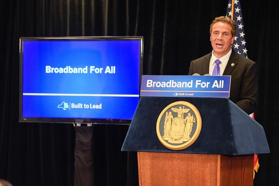 Cuomo: TDS Telecom gets $9.3 million to expand broadband in Cayuga County, upstate NY   Eye on NY   auburnpub.com