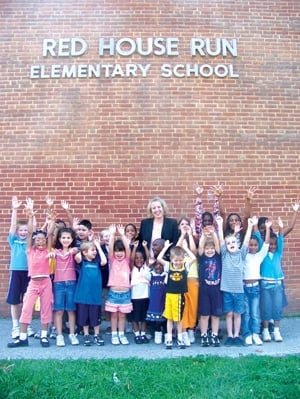 Red House Run Elementary Receives National Blue Ribbon