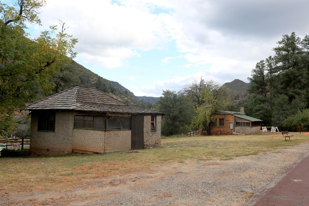 historic cabins at slide rock state park to be