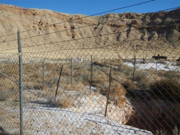 Meteor Crater mine shaft