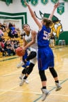 Flagstaff girls hoops nixed from section tournament after falling to Thunderbird 55-49