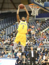 Northern Arizona dominates boards, beats Portland State
