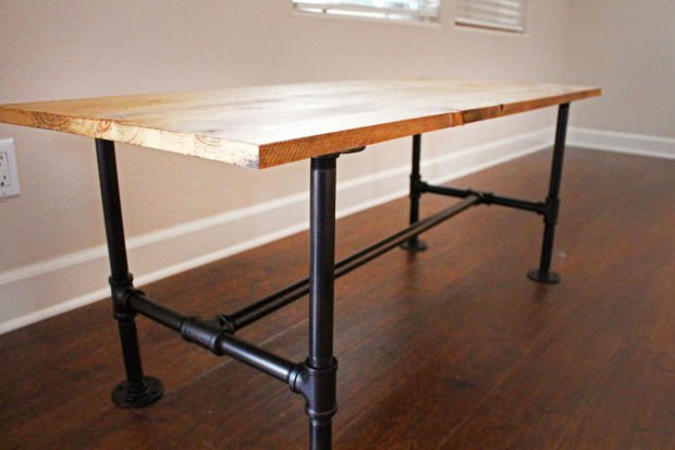 Diy Make Your Own Stylish Metal Pipe Coffee Table Home