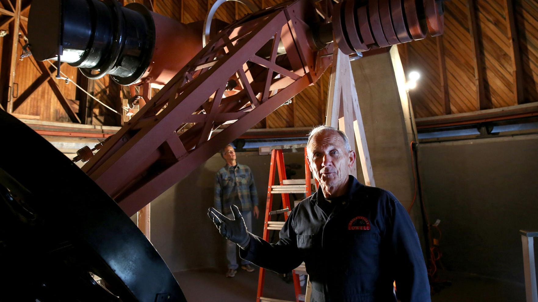Restoration of Pluto Discovery Telescope Begins